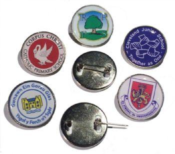 Standard round badge